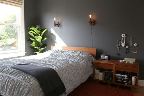 2011 Bedroom Design with Modern Wall Lights