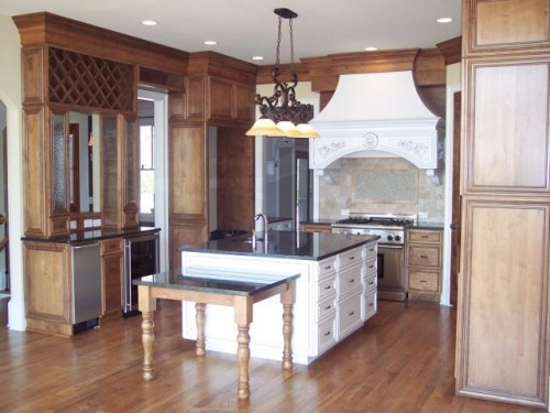 2011 Wooden Furniture with Cabinet Kitchen Design