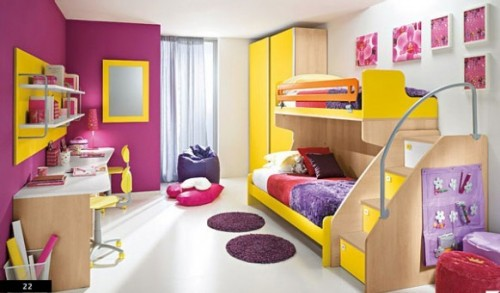 2012 Children Bedroom Designs in Art