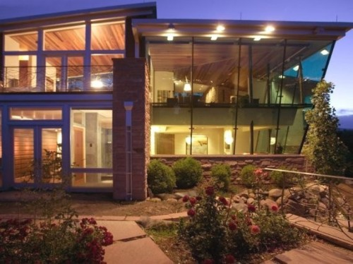 2012 Modern Home Ideas with Nice Exterior Setting