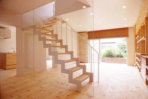 2012 Wood Stairs Interior Art
