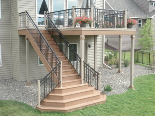 2013 deck stairs designs