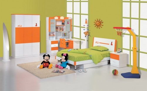 Amazing Children Bedroom with Luxury Designs