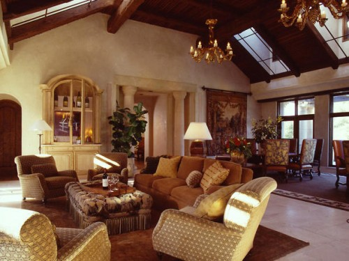 Amazing Mediterranean Living Room Design Art
