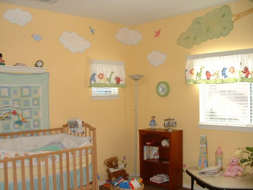 Baby Room Wall Murals Decorating Ideas