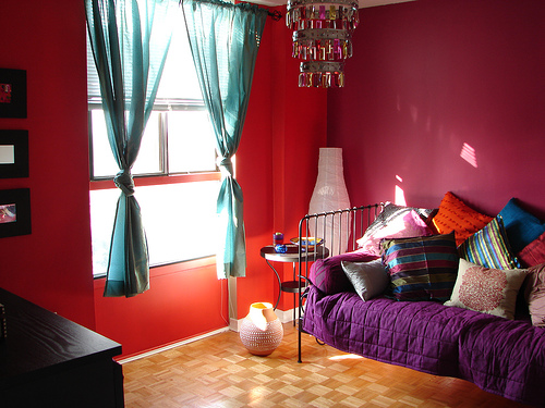 Beautiful Bedroom Color with Page Space Ideas