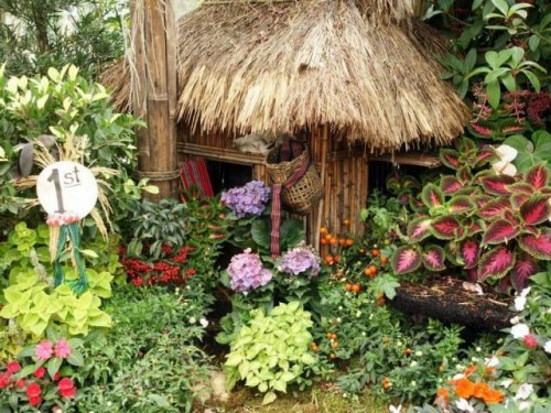 Beauty Flower Home Garden Designs