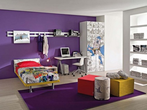 Best Purple Child Room Concept