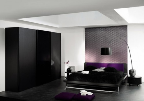 Black Cupboard Designs for Bedroom Interior