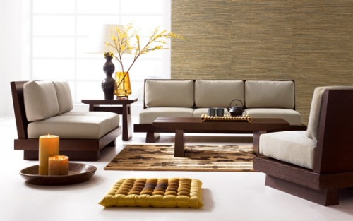 Brown Classic Living Room Design Inspiring