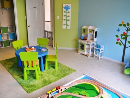 Colorful Children Playroom Designs