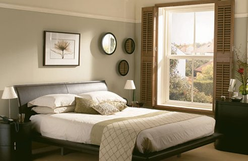Elegant Bedroom with pages