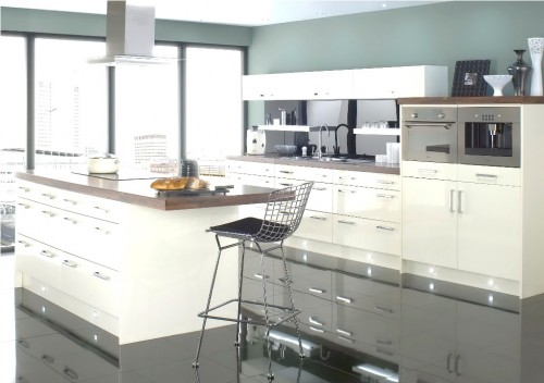 Elegant Contemporary Kitchen Decorating Ideas