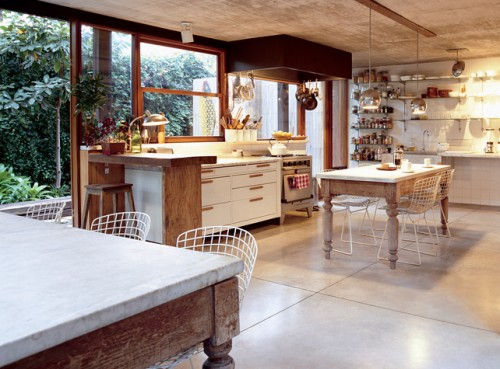 European Kitchen and Dining Room Art Design