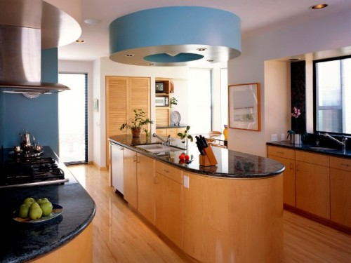 Excellent Kitchen Design with Wood Furniture