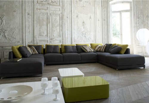 Excellent Living Room Design on 2012 Trends