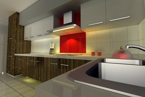 Fresh Kitchen Design for Modern Home