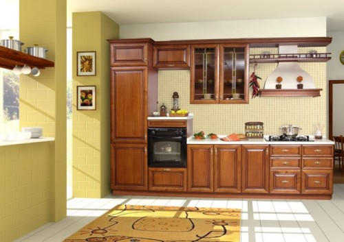 Fresh kitchen Cabinet Design Artistic