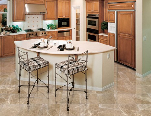 Great Natural Marble Stone Flooring Design