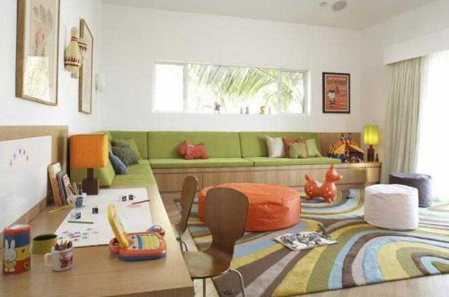 Luxurious Colorful Children Playroom