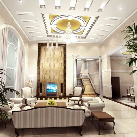Luxurious Interior Home Concept Art