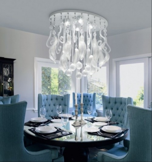 Luxury Lighting Dining Room Designs