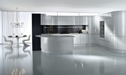 Luxury and Minimalist Kitchen Concept