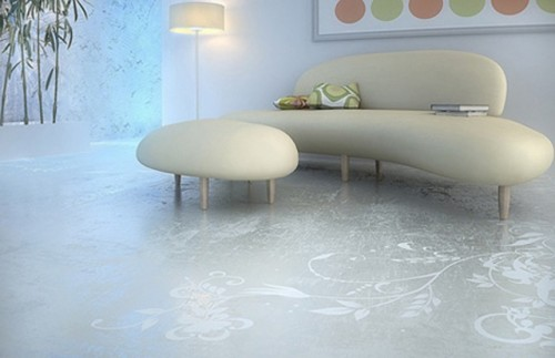 Modern Home Ceramic Floor Design Idea in 2011