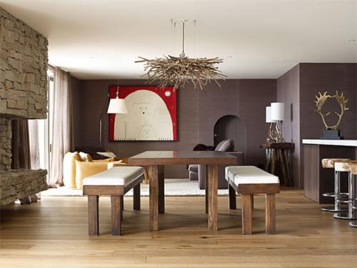 Natural Wooden Floor Designs Art