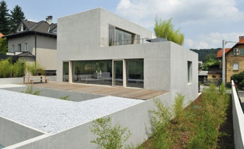 New Minimalist House Ideas with Design of Modern Technology
