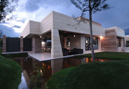 New Natural Exterior Designs with Minimalist Home