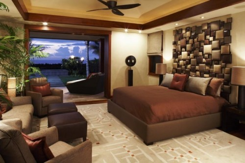 New Tropical Bedroom Design Ideas Trendy