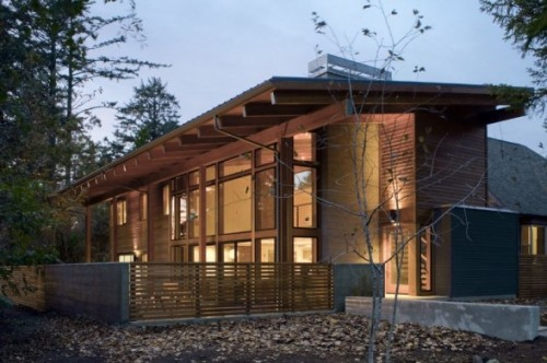 Nice Forest Natural Home Designs Ideas