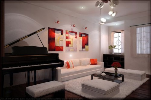 Nice Hanging Lamps for Living Room Design