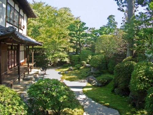Nice Japanese Garden Desigsn with Luxury Concept