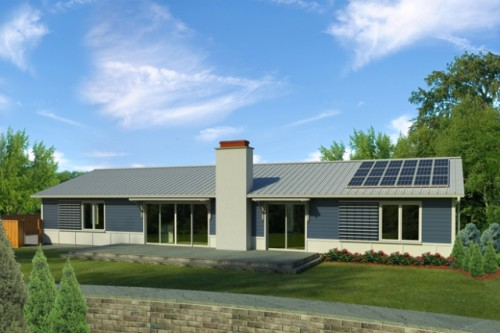 Nice Natural Modern Green Homes Designs Concept