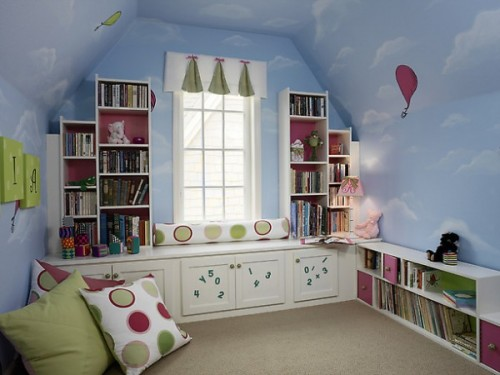 Sky Themes for Decorating Kids Bedroom