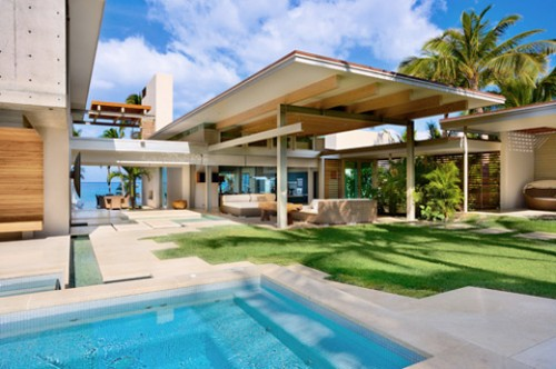 Tropical House Architecture Designs 2012