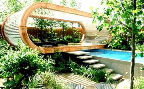 Unique Garden Home Designs Outdoor