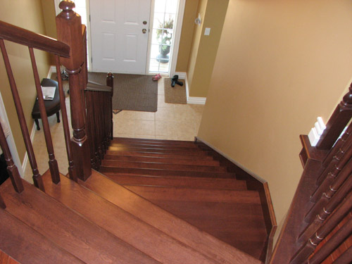 2011 Wood Stairs Architecture