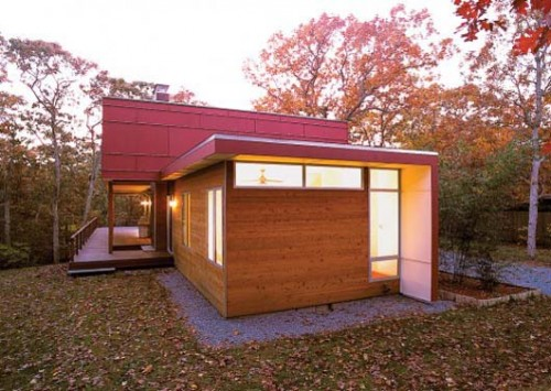 2011 Wooden Knock Down Home Architectures
