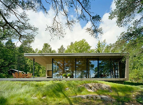2012 Minimalist House Designs with Natural Style