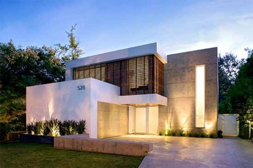 2012 Minimalist Houses with Best Exterior Designs
