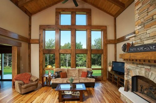2012 Timber Frame House in Designs