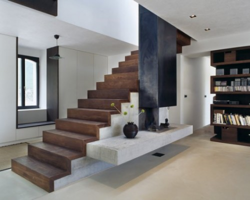2012 Wood Stairs Architecture in 2011