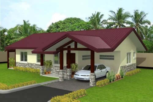 3D House Architecture with Simple Home Designs