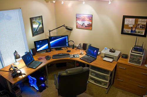 Amazing Home Office Lighting Architecture