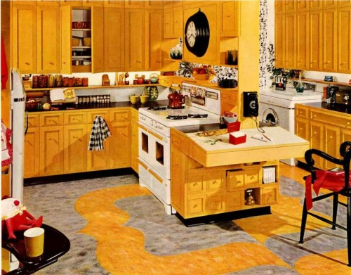 Armstrong Yellow Kitchen Decorating