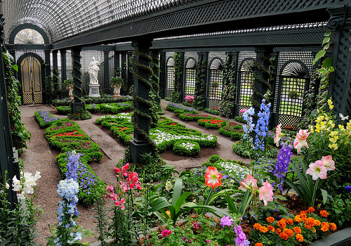 Beautiful French Garden Style Concept