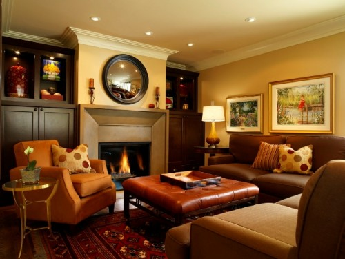 Beauty Family Room Lighting Design Architecture